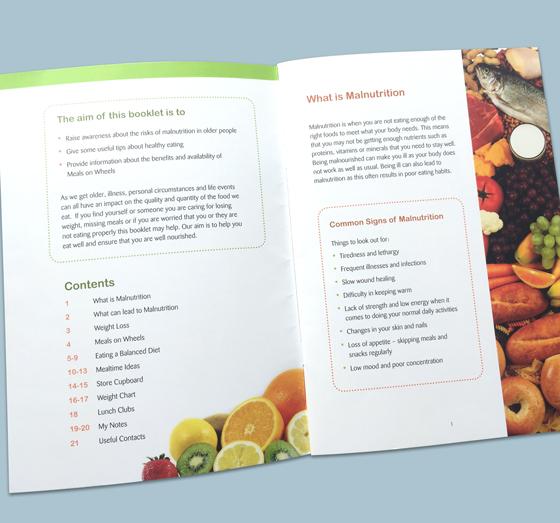 cope galway healthy eating booklet hope design pages a hope design galway advertising branding graphic design print management